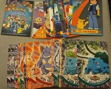 POKEMON T.V. ANIMATION SERIES 1 CARD SET (90) 1999