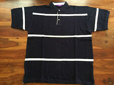 Cotton Polo Loose Fit Striped Casual Shirts & Tops for Men