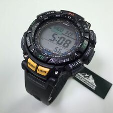 Casio Pro Trek Solar Compass Altimeter Watch PAG240-1 PRG-240-1