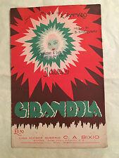 SPARTITO MUSICALE GIRANDOLA B CHERUBINI R. TAMMARO TEMPO DI GIAVA 1926