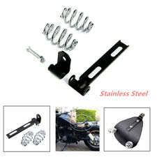 "Motorcycle Solo Seat 3"" Springs Bracket Mount Kit Fit For Honda Kawasaki Suzuki"