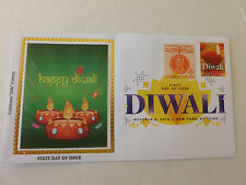 Diwali Combo Stamp 2016 Fdc Sc#5142 (With DCP Cancel) Colorano Silk Cachet Cover