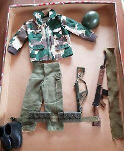 Vintage Action Man British Paratrooper part uniform