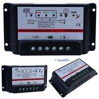 10A/20A/30A 12V/24V Auto Switch Solar Panel Regulator Charge Controller Jк
