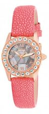 New Women's Invicta 17876 Angel Morganite MOP Dial Diamond Accented Pink Watch