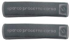 SPARCO SPC Gurtpolster Set grau Gurtschoner Sicherheitsgurt Sportgurt Polster