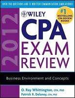 Wiley CPA Exam Review 2012 : Business Environment and Concepts