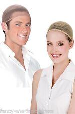 pour hommes femmes adulte couleur chair maille Perruque Crâne Casquette