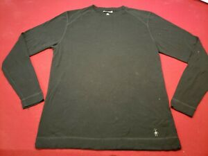 SMARTWOOL Men's XL Thermal Merino Wool Knit Crew Neck Long Sleeve Base Layer