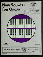 Now Sounds For Organ #4 Willis Music Dealers Choice #18 New-Old Stock