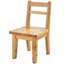 Hardwood Birch Chair Water Resistant Non-Slip Sturdy Wooden Chair for Children