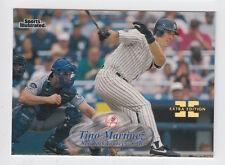 1998 FLEER SPORTS ILLUSTRATED TINO MARTINEZ FIRST EDITION MASTERPIECE 1/1 RARE!