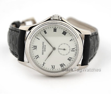 Patek Philippe Calatrava watch White Gold Enamel Dial  5115G $18,400