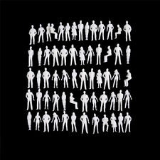 10 Pcs 1 50 Scale Model Human Scale HO Model ABS Plastic Peoples FT