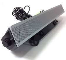 "Dell AS501 UH852 10W Stereo Sound Bar Computer Speaker for 17"" - 19"" Monitor #OC"
