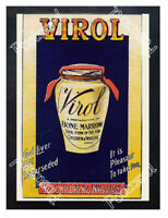 Historic Virol Bone Marrow Preparation 1890s Advertising Postcard