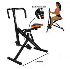 Total Body Crunch Six Pack Core Horse Riding Machine Ab Train all Muscles NEW