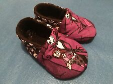 NEW Nightmare Before Christmas Baby Jack Skellington Booties 6-12 Mo Shoes Gift
