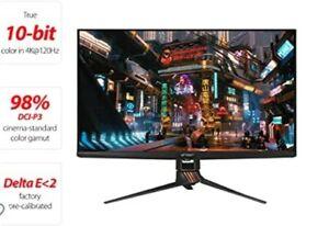"ASUS ROG Swift 32"" 4K HDR 144Hz DSC Gaming Monitor (PG32UQX) - UHD 3840 x 2160"
