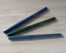3x essence automatic Eyliner - NEU -  automatic Kajalstift - 1x grün u. 2x blau