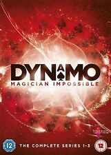 Dynamo Magician Impossible Complete Series 1 2 3 BRAND NEW AND SEALED UK R2 DVD