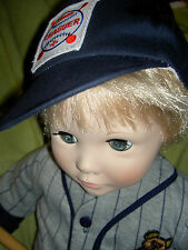 "Suzanne Gibson ~ ""JOSH"" c1977, 23"" baseball player boy doll with tag & orig. box"