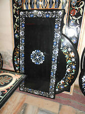MARBLE 3'x2' DINING COFFEE LIVING CORNER MALACHITE TABLE TOP MOSAIC INLAY WORK