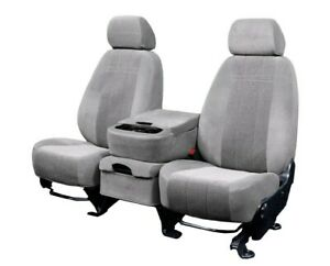 Ford F-150|Ford F-250 1997-2003 Light Grey O.E. Velour Custom Fit Front Seat
