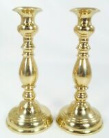 "5 1/2"" Solid Brass Candlestick Candle Holder VIRGINIA METALCRAFTERS #3014 Pair"