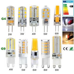 G4 G9 LED bulb 2W 3W 4W 5W 6W 8W 9W halogen Capsule light socket bulb 12V/220V