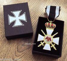 GERMAN 'CROWN & SWORDS' MEDAL - ORDER OF RED EAGLE - IRON CROSS