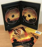 LAWRENCE OF ARABIA 1962 (DVD, 2001) 2-DISC LIMITED EDITION FABRIC CASE w/BOOKLET