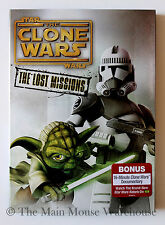 Star Wars The Clone Wars Season 6 Six The Lost Missions with Slipcover 3 DVD Set