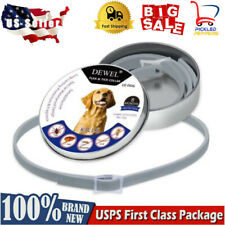 Dewel Flea And Tick Control Collar For Small Medium Large Dog 8 Month Protection