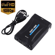 SCART to HDMI Adapter Converter with Audio Video Composite for TV DVD SkyBox CHY