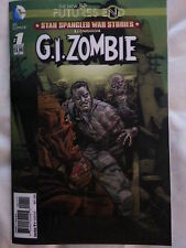 DC COMICS- NEW 52.  FUTURES END : G.I.ZOMBIE  ONE SHOT. 3D MOTION HOLOGRAM COVER