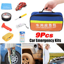 Roadside Emergency Breakdown Safety Kit Portable Auto Set Car Tool Bag Vehicle