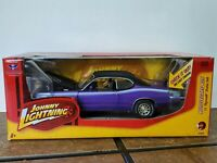 Johnny Lightning 1971 Plymouth Duster 340 1:24 Scale Diecast Model Car Plum