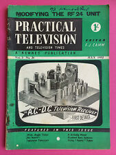 Practical Television - Vol.3, #26 July 1952 - Modifying The RF 24 Unit - Vintage