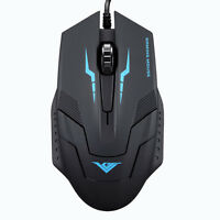 1600 DPI 3 Button Optical Mouse USB Wired Gaming Mouse Mice For PC Laptop New