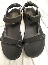 Teva Men's Hiking Sandals Size 13 US / EU 47 Black Gray Spider Rubber sh20