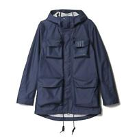 adidas ORIGINALS UTILITY PARKA JACKET MEN'S WINTER COAT TREFOIL 3 STRIPES HOODED
