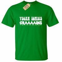 KIDS BOYS GIRLS Vegan Zombie Graaains T Shirt Grains funny joke vegetarian