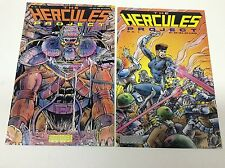 THE HURCULES PROJECT #1-2 (MONSTER COMICS/1991/0716148) COMPLETE SET LOT OF 2