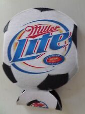 Miller Lite Soccer Ball Beer Can Coozie