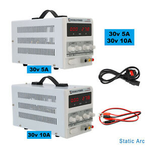 Adjustable Switching Mode Power Supply 30V DC Digital LED Precision LAB Variable