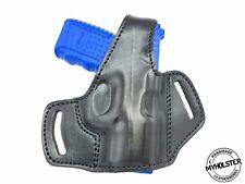 OWB Thumb Break Leather Belt Holster Fits Taurus G2C