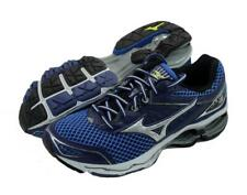 112012915 New Men's Mizuno Wave Creation 18 Running Shoes Size 9 Navy/Blue/Silver