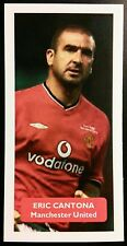 FRANCE - MANCHESTER UNITED - ERIC CANTONA - Score UK football trade card