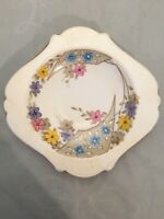 plant tuscan china Art Deco Antique Small Dish Plate